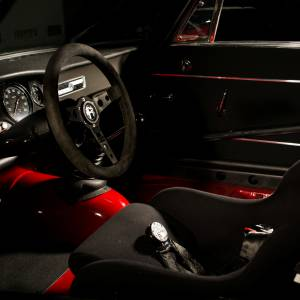 Alfa Romeo GTA race interior